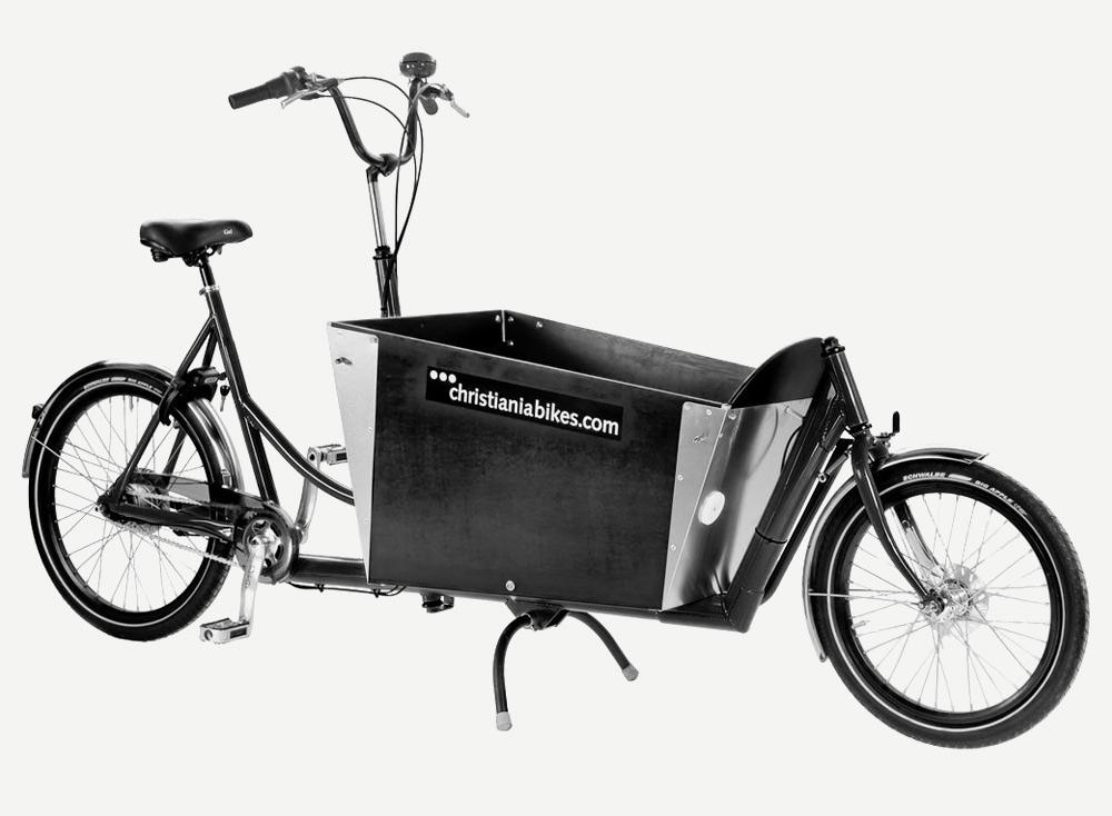 christiania bikes laatikkopyörä 2wheeler