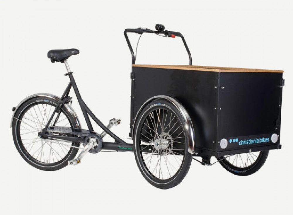 christiania bikes laatikkopyörä straight box