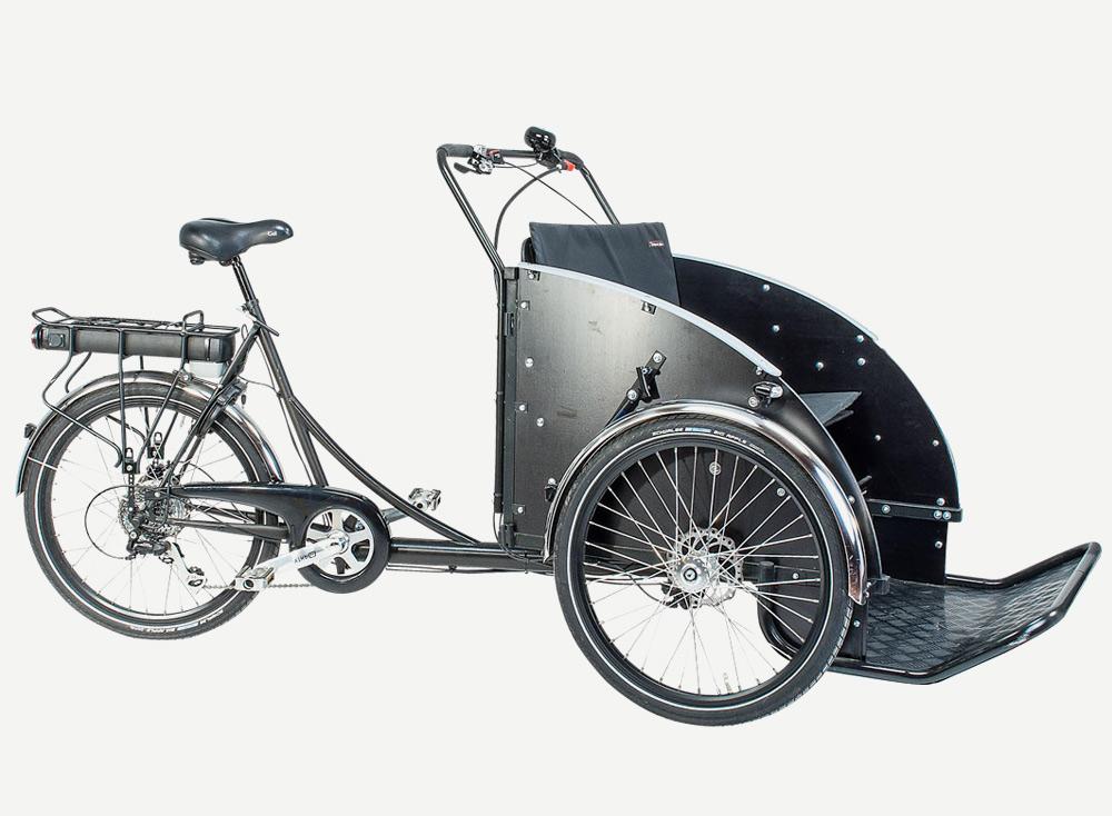 christiania bikes laatikkopyörä taxi