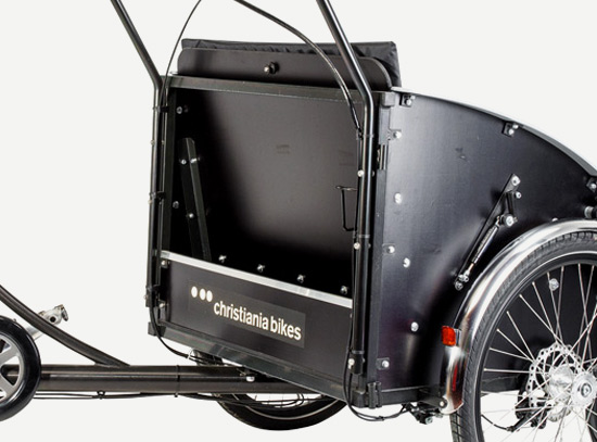 christiania bikes taxi laatikkopyörä