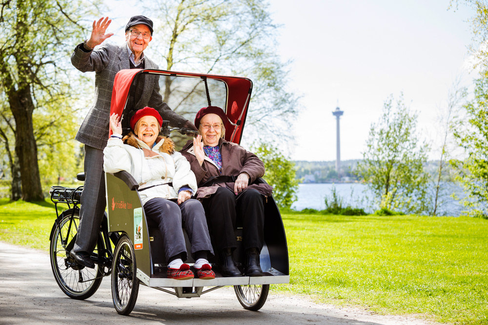 taxi pyörä