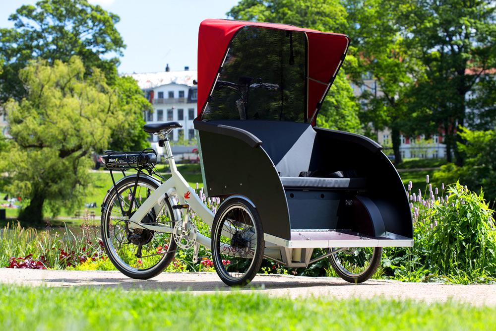 triobike taxi suomi